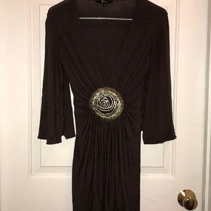 Brown short Sky Dress